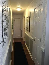 hallway finally. Stenciled Hallway Finally Finished, Wall Decor, Thrift Store Metal Pieces  As Art T