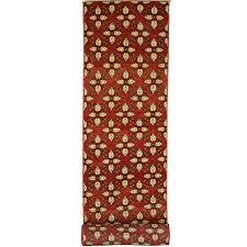 vintage turkish red oushak runner extra long carpet runner stair tread for at 1stdibs