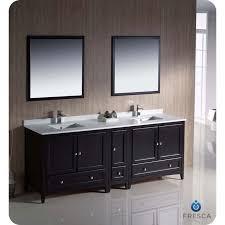 traditional double sink bathroom vanities. Fresca FVN20-361236ES Oxford 84\ Traditional Double Sink Bathroom Vanities V