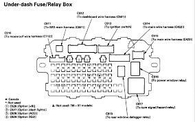 civic & del sol fuse panel (printable copies of the fuse diagrams 93 honda civic fuse diagram under hood at Honda Del Sol Fuse Box