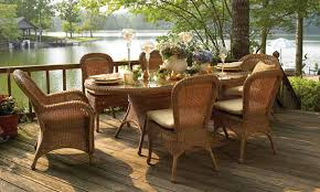 Beautiful Wicker Resin Patio Furniture with All Weather Wicker