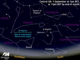 Pegasus Star Chart See Prime Time Neptunes Close Encounter With Star Aquarii