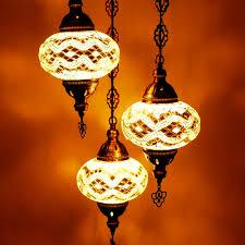 Hangende Lamp 3 Bollen Wit C Patipada