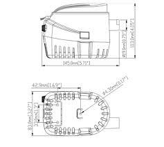 12 volt auto bilge pump 12 volt pumps dc pumps seaflo auto bilge pump sfbp1 g750 06