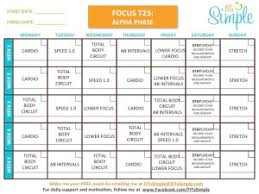 the image below for a free printable focus t25 workout schedule