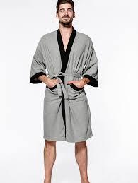 Cotton Men Waffle Robe Bathrobe Sweat Sauna Towel Sale, Price ...