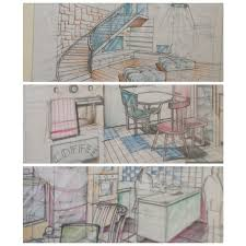 40 Interior Design Drawing Tips Freehand Architecture Extraordinary Drawing Interior Design