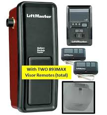elite wall mount garage door opener w 2 remotes liftmaster professional 1 hp remote chamberlain troubleshooting