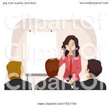 Royalty free teens at presentation