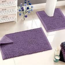 Purple Bathroom Accessories Set Purple Bathroom Decorating Ideas Black Laminated Wooden Bathroom