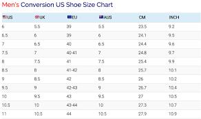 Uk American Shoe Size Conversion Chart Reasonable American Mens Shoe Size Chart Uk Clothing And