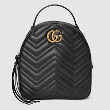GG Marmont quilted leather backpack - Gucci Women's Backpacks ... & GG Marmont quilted leather backpack Adamdwight.com
