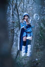rylai crystal maiden dota 2 by ladynamyra on deviantart