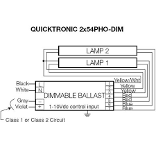 fluorescent ballasts mylightbulbs osram 54w 277v t5 quicktronic series ballast