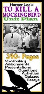 to kill a mockingbird newspaper project newspaper activities to kill a mockingbird complete unit plan assignments vocabulary questions presentations