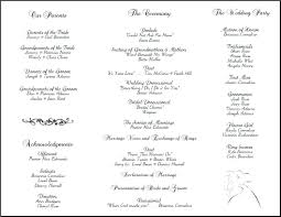 Free Microsoft Word Wedding Program Template 030 Template Ideas Free Download Wedding Program Wonderful