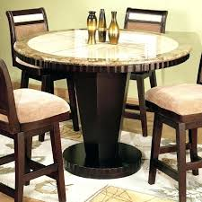 round counter height dining table kitchen tables gathering set with bench counte round counter height