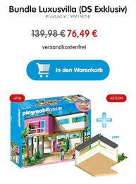 Playmobil Moderne Luxusvilla 5574 Erweiterung 6389 Gratis