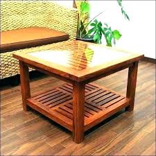 wooden center table solid wood coffee images teak design