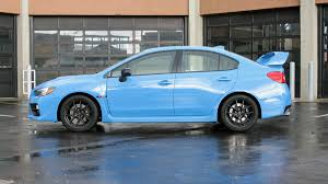 2016 Subaru WRX STI review and test drive with price, horsepower ...