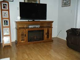 brookfield 26 premium oak media console electric fireplace cabinet mantel