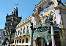 Prague City Hall is one of the finest examples of the Art Nouveau  architecture. The