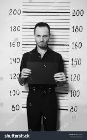Portrait Criminal Man On Detective Party Stock Photo (Edit Now) 551070703