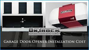 garage door opener installation cost mesa phoenix scottsdale gilbert