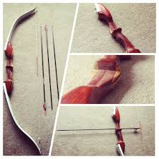 picture of takedown recurve bow home made