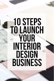 Starting an interior design business is tough. It's a saturated market and  it's hard to