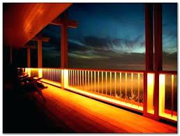 deck lighting ideas. Under Rail Deck Lighting Outdoor Ideas Pictures Aluminum Railing Solar Lights .