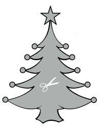 Schablone Weihnachtsbaum Zum Ausschneiden Bastelvorlagen