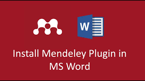 How To Install Mendeley Plugin In Ms Word In Mac