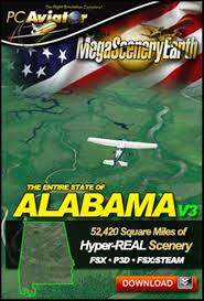 Mega Scenery Earth Version 3 Alabama Download Version Pc Aviator Dl Msev3 Al
