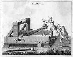 Roman wild ass torsion catapult