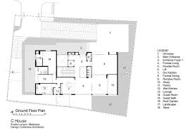 House Design Ground Floor Plan Gallery Of C House Design Collective Architect 28