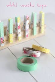 What Washi Tape means? - could add washi tape to plain clothespins to make  cute magnets