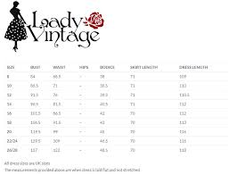 Size Guide Get The Perfect Fit In Your Vintage Dresses