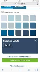 Light Navy Blue Color Code Sapphire Blue Navy Blue Dulux Paint Dulux Paint Colours
