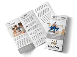 Buy Brochure Templates First Time Home Buyers Tri Fold Brochure Template