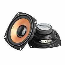 Aiyima 2Pcs 4Inch 5W Subwoofer Speaker Woofer Pengeras Suara Audio Stereo  Kolom Mini Bass Loudspeaker DIY untuk Rumah teater Audio|Subwoofer