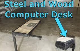 custom furniture steel wood computer desk dallas tx 75201 you