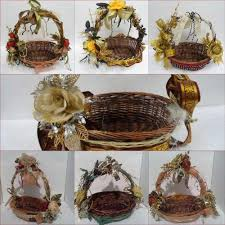 Gift Tray Decoration Fibre Gift Motif Decorative Baskets For Gifting In wedding 70