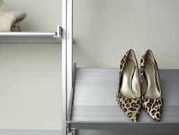 rakks aluminum shelving system for closets