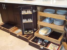 Kitchen Cabinets Sliding Shelves Roll Out Drawers For Kitchen Cabinets Canada