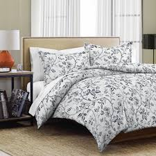 easycare 144 thread count printed duvet cover set verona