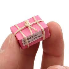 2pcs 1 12 pacco postale casa delle bambole fai da te accessori per