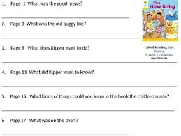 Reading Comprehension Oxford Reading Tree Level 5 The New Baby