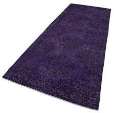5x12 purple runner rugs 2078