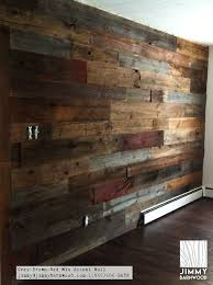 reclaimed wood wall wood pallet wall